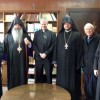Prelate Parisian meets with Archbishop Lepine