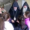 Prelate Sarkissian Visits Sourp Hagop School