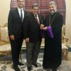 Prelate Tcharian meets with the Mayor of City of Montreal