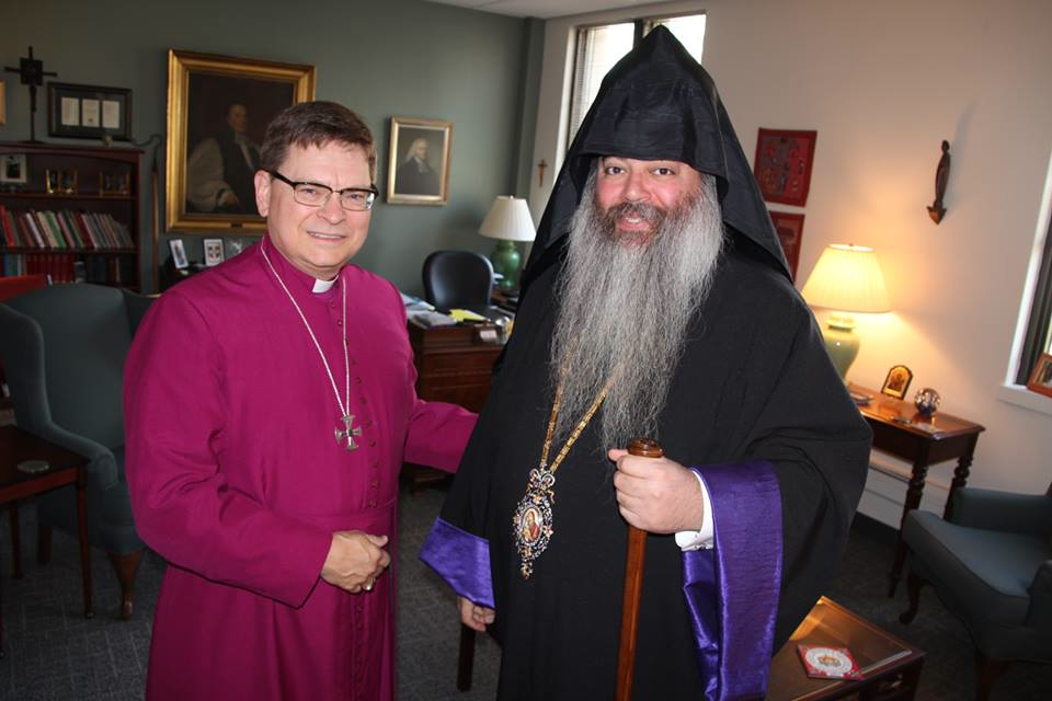 Archbishop Collins and Prelate Hagopian[1]